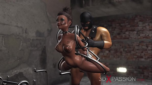 Milf in human cages fucked by a brutal man in a mask in a basement – https://erotic-hentai.com